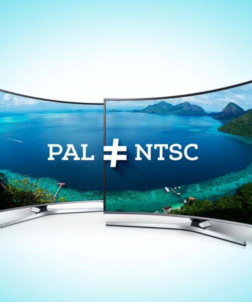 Qual a diferença entre Pal e NTSC?