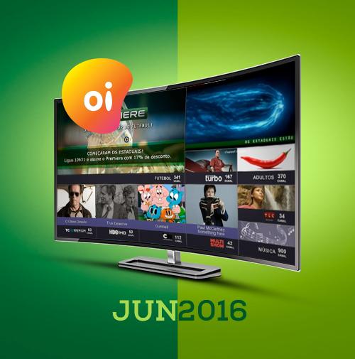 Confira a programação de junho na Oi TV