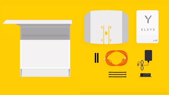 Link 3G Elsys - Embalagem