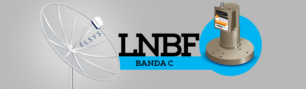 LNBF para Banda C e Banda KU