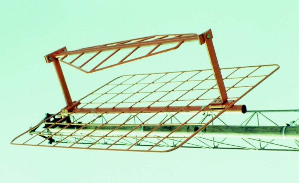 Antena painel duplo delta ou h