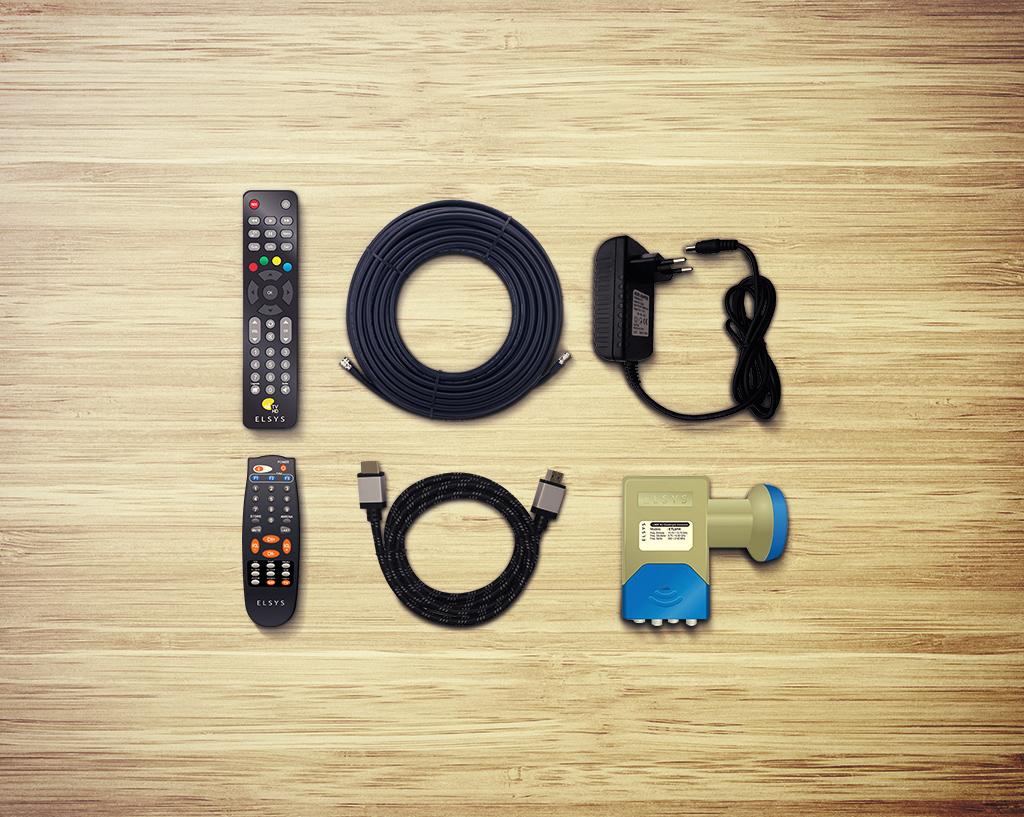 Acessórios Para Instalação e Uso de Sua TV com Receptor Digital