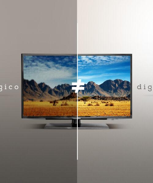 Diferenças entre TV analógica e digital