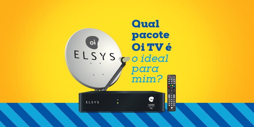 Qual pacote Oi TV é o ideal para mim?