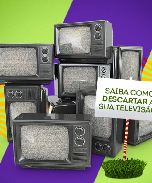 Como descartar corretamente as TVs mais antigas
