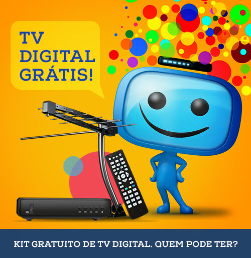 Kit gratuito de TV digital