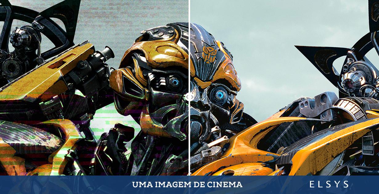 Uma imagem de cinema