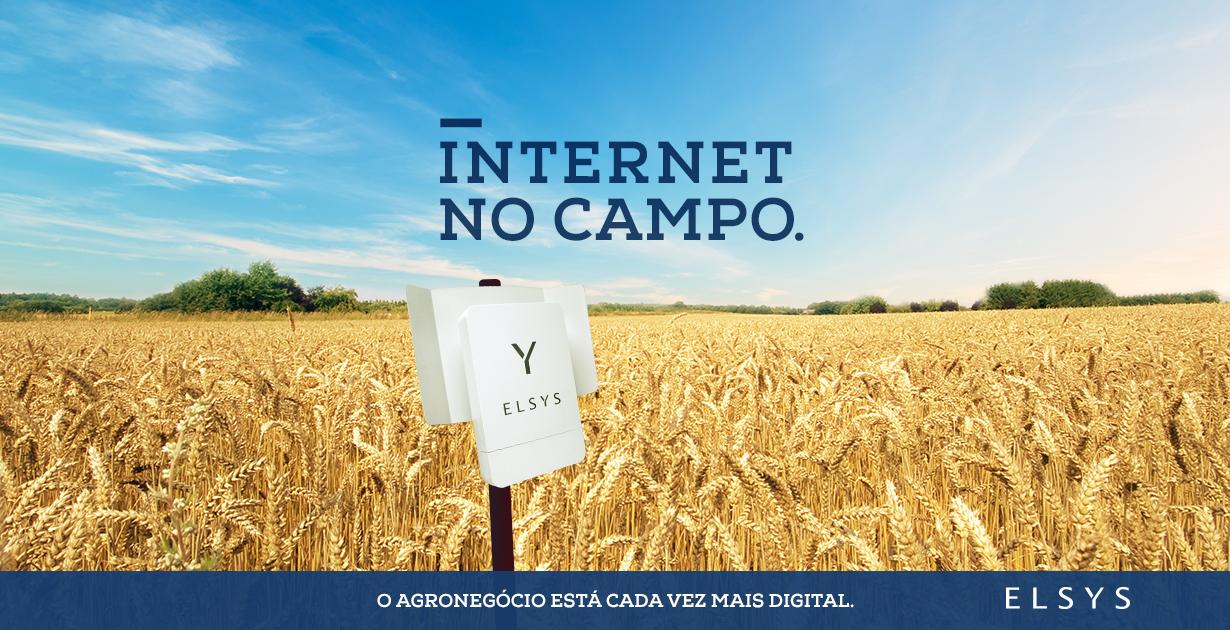 internet no campo