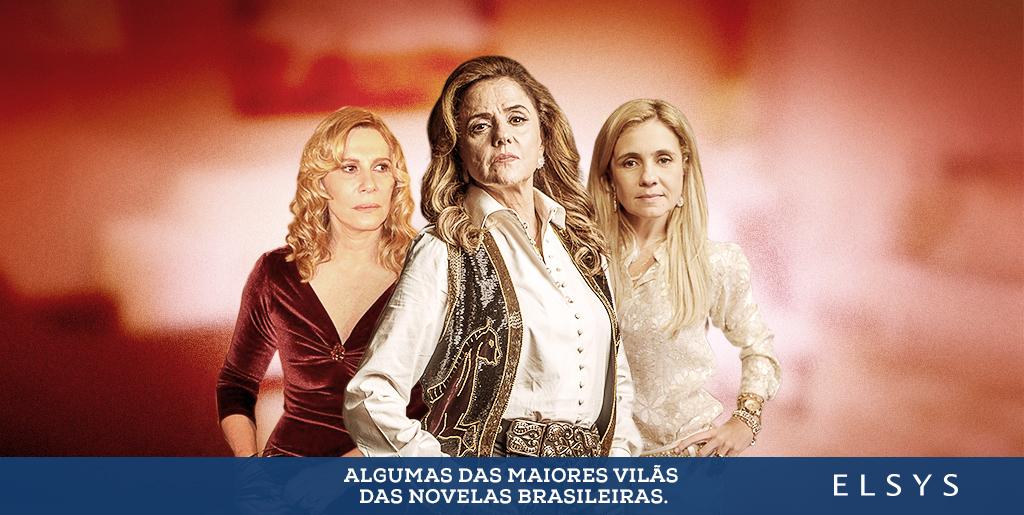 Algumas das maiores vilãs das novelas brasileiras