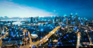 Cidades tecnológicas com inteligência artificial